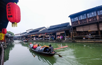 In pics: Anchang ancient town in Shaoxing, E China's Zhejiang