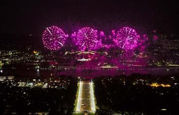 Annual Enlighten Festival closes in Australia