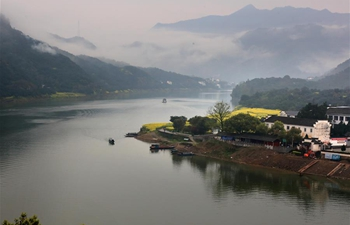 Scenery of Xin'an River in E China's Anhui