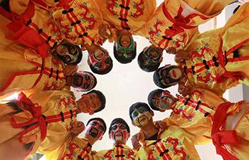 Intangible cultural heritage of Guizhou: Longli's dragon dance