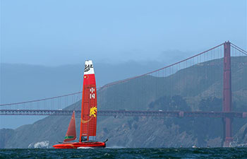 SailGP event held in San Francisco