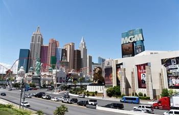 City view of Las Vegas, U.S.