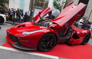 2019 Yorkville Exotic Car Show held in Toronto