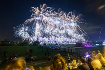 19th Int'l Festival of Fireworks held in Zagreb, Croatia