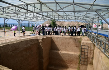 Archaeological enthusiasts experience archaeological work up-close in China's Shaanxi