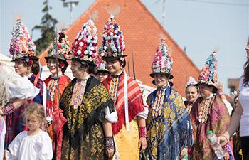 53rd Dakovacki vezovi festival marked in Dakovo, Croatia