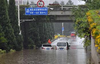 Rainstorm hits Nanchang, E China
