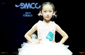 Children take part in model final contest in SW China's Chongqing