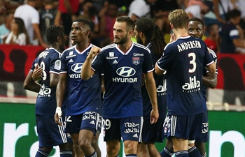 French League 1 soccer match: AS Monaco vs. Olympique Lyonnais
