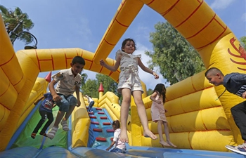 People enjoy Eid al-Adha holiday in Beirut, Lebanon