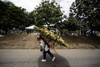 62nd Medellin Flower Festival closes in Colombia