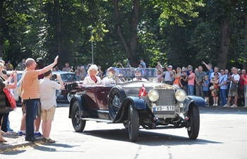 Annual old-timer meeting Riga Retro 2019 held in Latvia