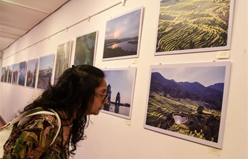"""Splendid China"" photo exhibition held in Mumbai, India"