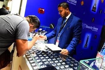 Int'l Gem and Jewellery show held in Colombo, Sri Lanka