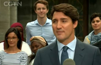 Canadian PM Trudeau starts reelection campaign ahead of Oct. 21 vote
