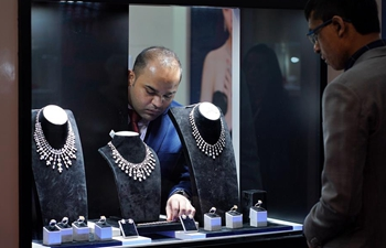 September Hong Kong Jewellery & Gem Fair held in south China's Hong Kong