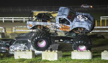 Highlights of Monster Truck Show of the 2019 Markham Fair