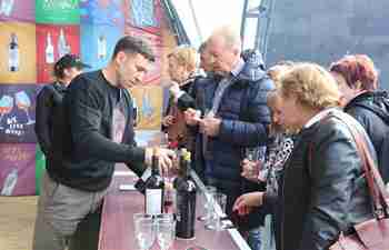 18th edition of National Wine Day held in Chisinau, Moldova