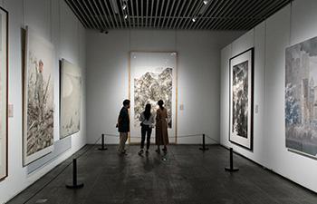 People visit Hunan Art Museum in Changsha, China's Hunan
