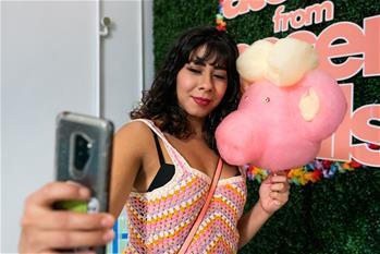 """Dessert Goals"" fair held in Los Angeles, U.S."