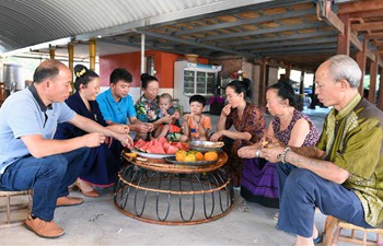 Pic story of four-generation family in China's Yunnan
