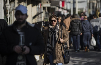 People's life after protests in Tehran, Iran