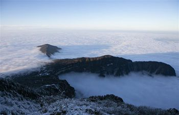 Scenery of Mount Emei in SW China's Sichuan