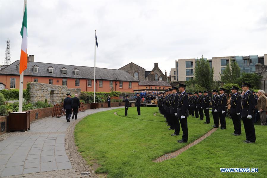 Police Memorial Day Marked In Dublin Xinhua English News Cn