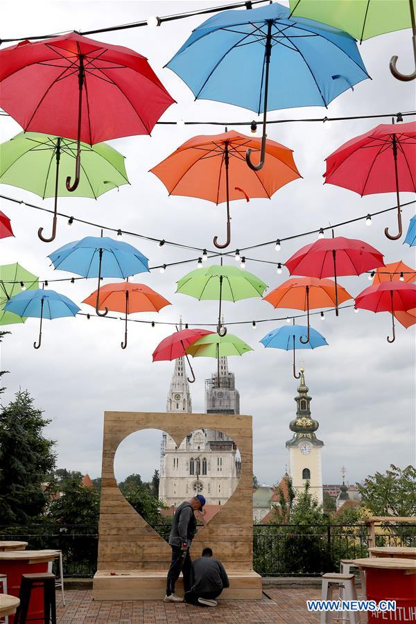 Croatia S Zagreb Prepares For Bas Nas Gourmet Music Festival Xinhua English News Cn