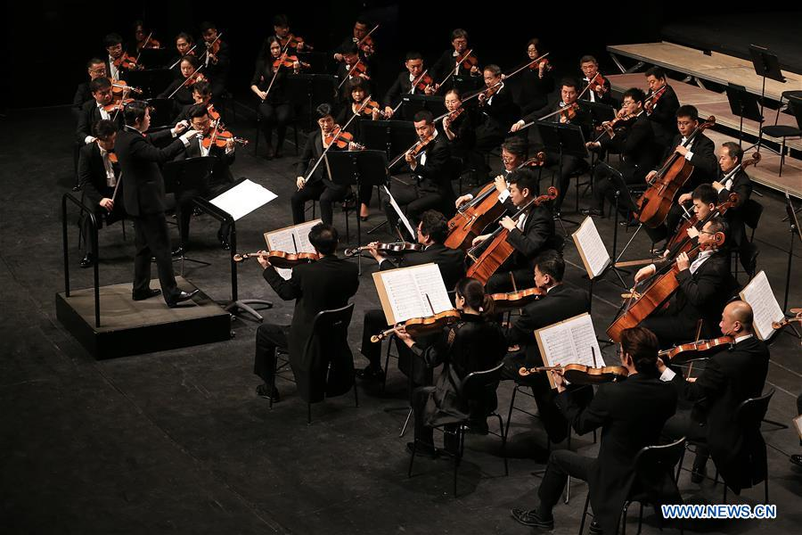 GREECE-ATHENS-CHINA PHILHARMONIC ORCHESTRA