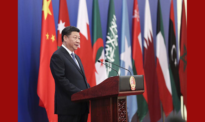 Xi: China, Arab states agree to forge strategic partnership