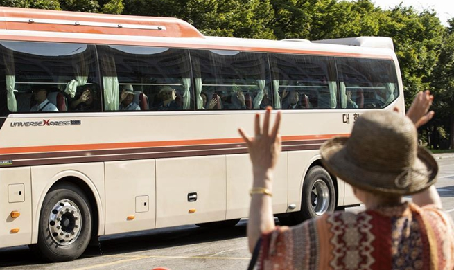 S.Korean war-separated families leave for DPRK for reunions with long-lost relatives