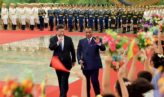 Xi holds talks with Republic of the Congo's president
