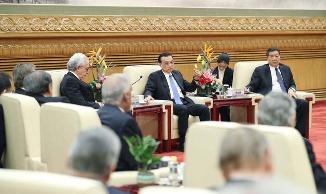 Premier Li meets delegates attending Understanding China Conference