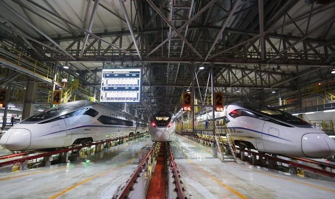High speed trains maintained for 2019 Spring Festival travel rush