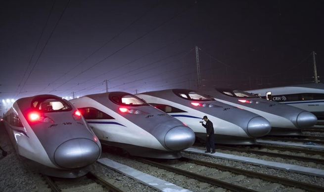 High-speed trains facilitate Spring Festival travel rush in China