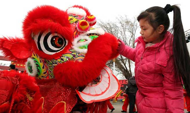 Temple fairs held across China during Spring Festival holiday