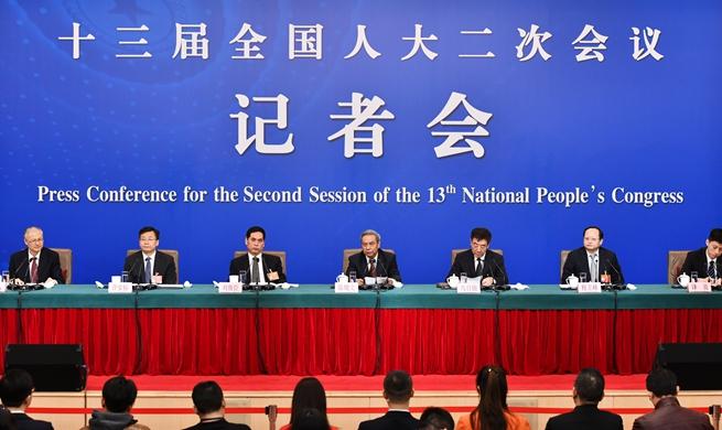 NPC holds press conference on legislative work