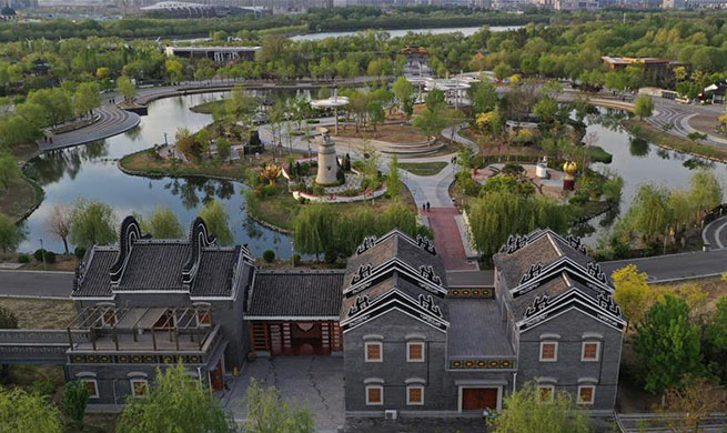 Greening efforts of Xiongan showcased at horticultural expo