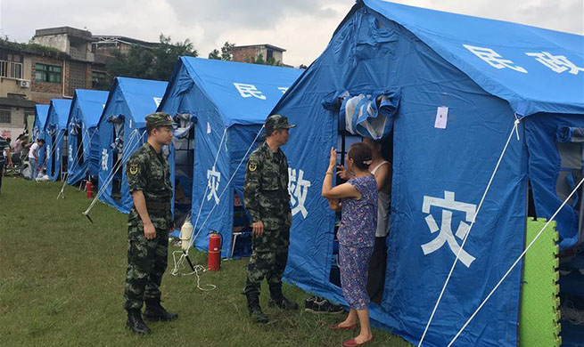 China Focus: Rescue operation continues as death toll rises to 13 in China earthquake