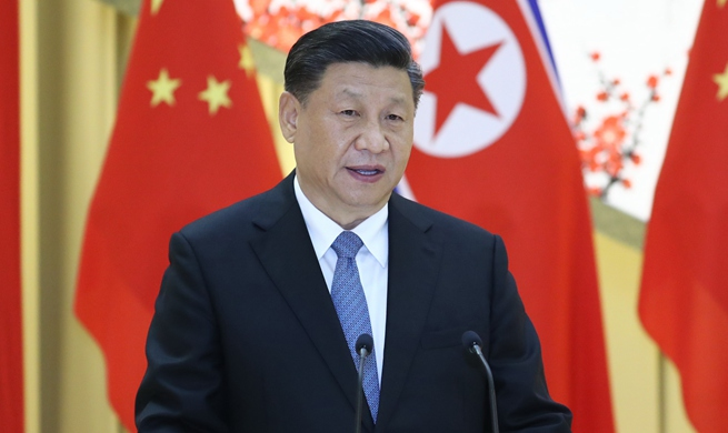 China ready to join DPRK for brighter future of ties, regional peace, prosperity: Xi