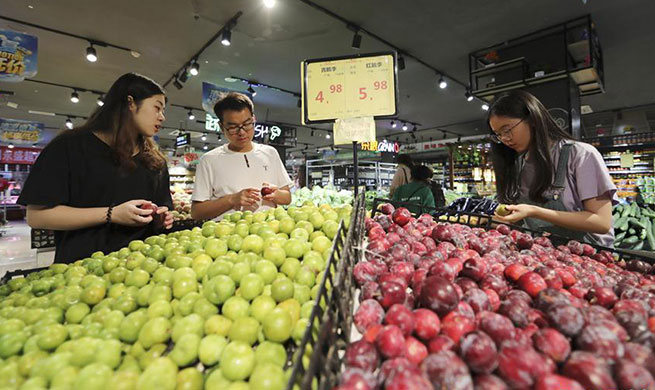 China's inflation remains stable at 2.7 pct in June