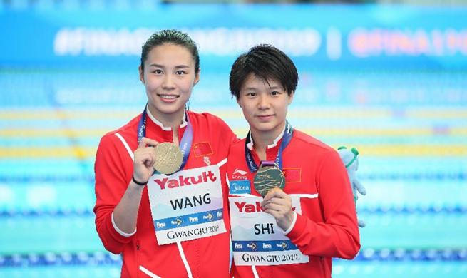 China wins women's 3m synchro springboard at Fina World Championships
