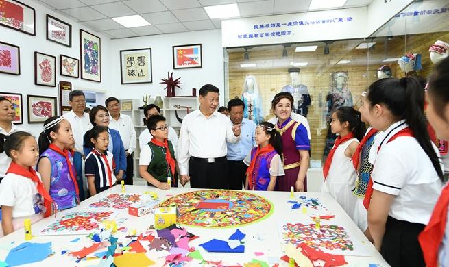 Xi stresses people-centered development in Inner Mongolia inspection