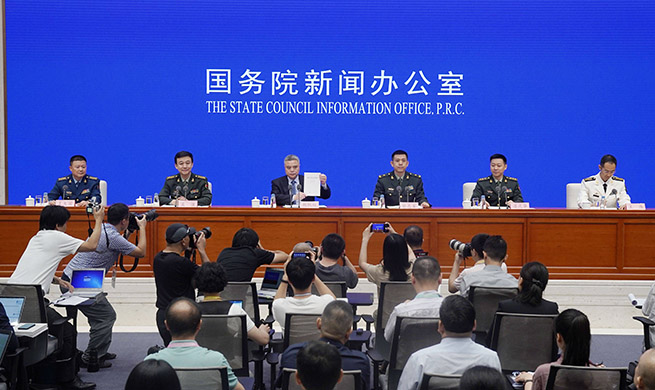 Xinhua Headlines: China says it will never seek hegemony in national defense white paper