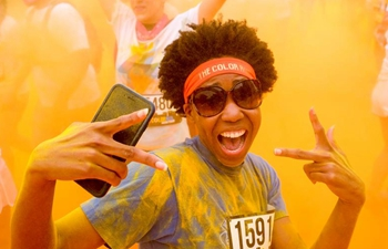 Color Run held in Los Angeles