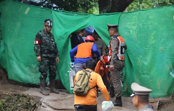 4 boys trapped in Thai cave rescued, next operation within 10 to 20 hours: official