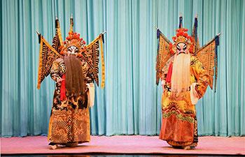 Peking opera staged in China's Hebei