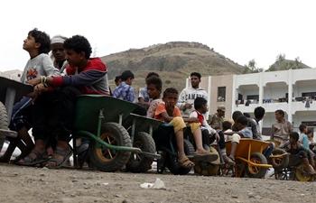 In pics: Yemeni displaced people