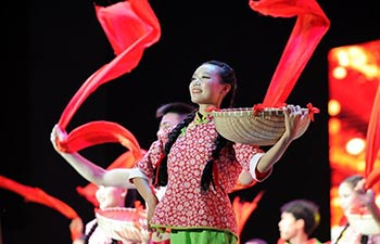 Performance staged to greet Mid-Autumn Festival in China's Guizhou